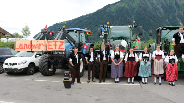 Traktoren links