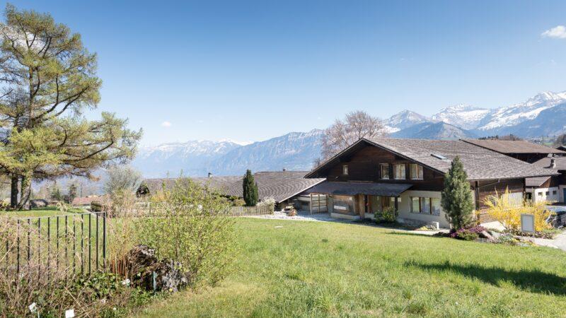 Berner Oberland mit Aussicht