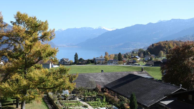 INFORAMA Berner Oberland Aussicht auf See