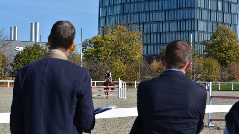 Pferdeberufe Berufsprüfung Experten bei der Prüfung